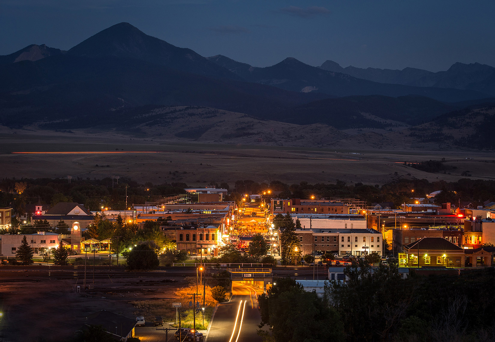 Livingston, Montana downtown